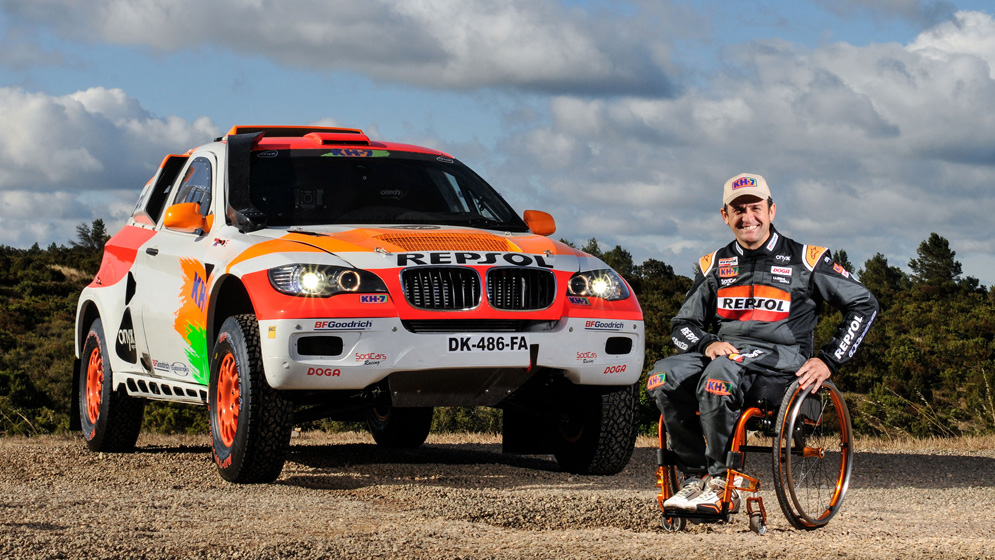 Isidre Esteve takes on his toughest challenge yet in the run-up to Dakar 2018