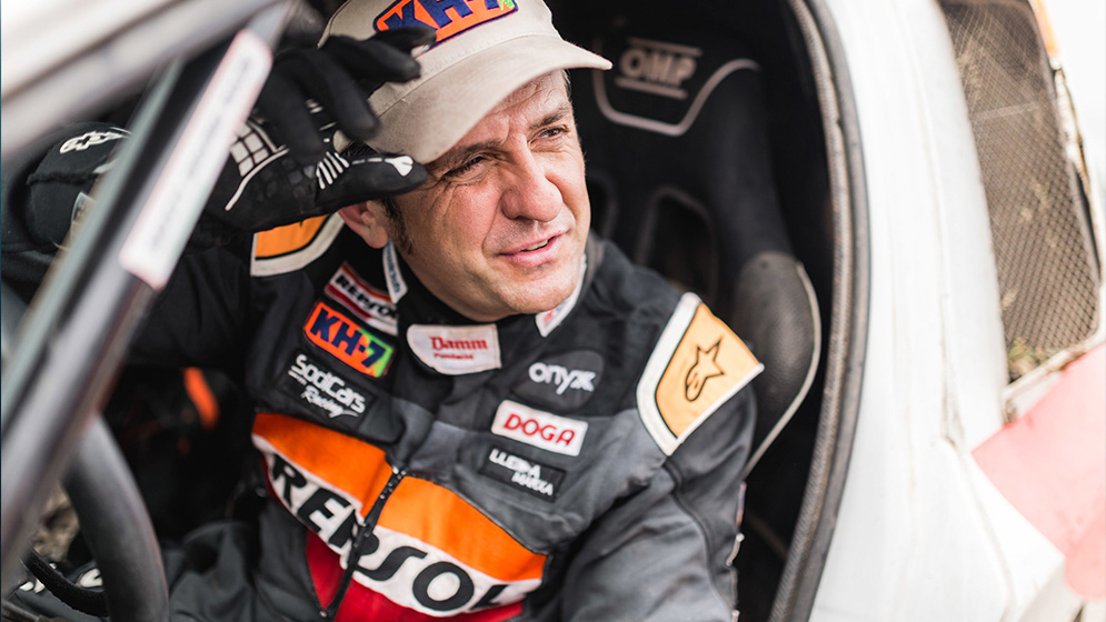 Isidre Esteve culmina con éxito el Dakar más duro de Sudamérica