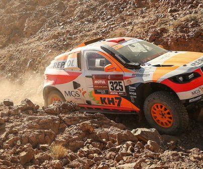 Isidre esteve en la etapa 2 del Dakar 2020