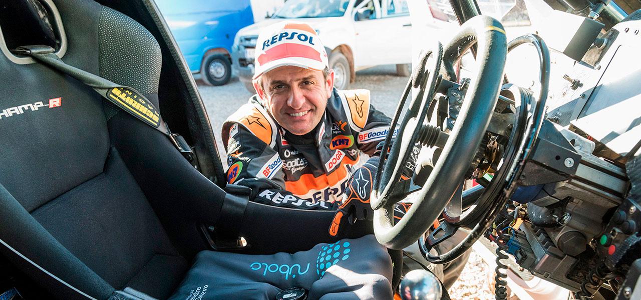 Isidre Esteve reveals all the secrets of his Dakar prototype