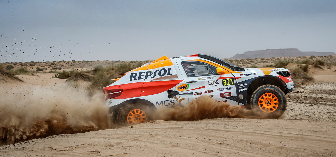 Isidre Esteve will compete in the 2019 Rallye du Maroc with one eye on the Dakar