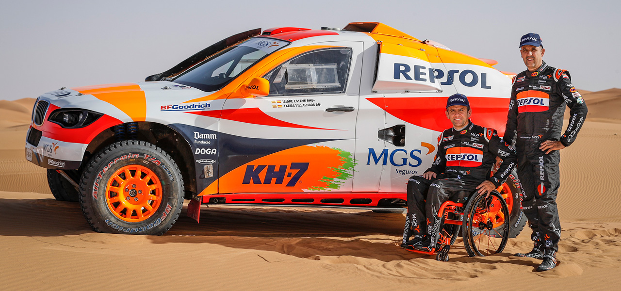 Isidre Esteve will once again visit Morocco to launch his new Dakar campaign