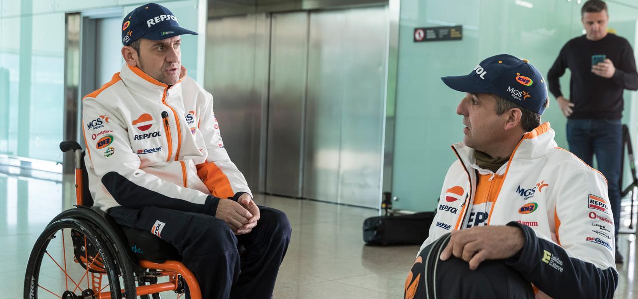 Isidre Esteve parte hacia Jeddah con ganas de vivir el primer Dakar asiático de la historia