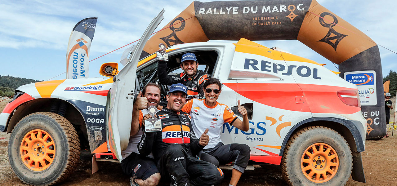 Isidre Esteve's inspiring 12th place finish in the Rallye du Maroc
