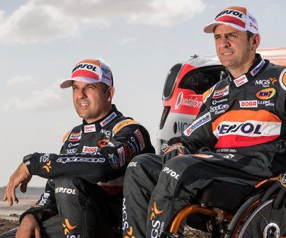 Isidre Esteve ready to tackle the Dakar>