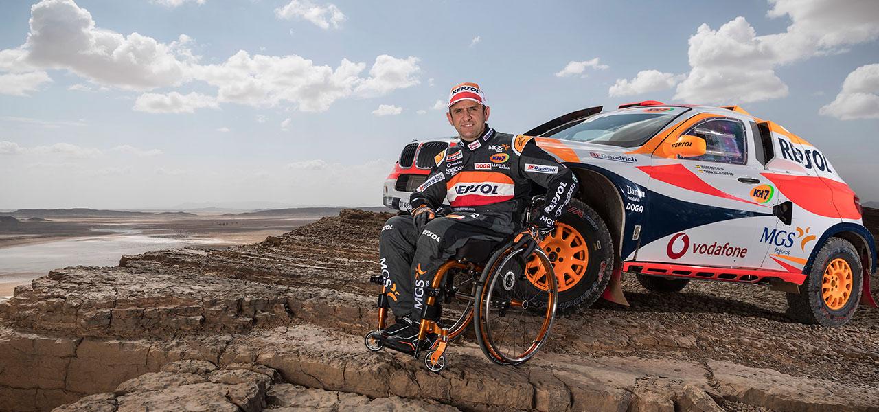 El Repsol Rally Team afronta su último gran test antes del Dakar