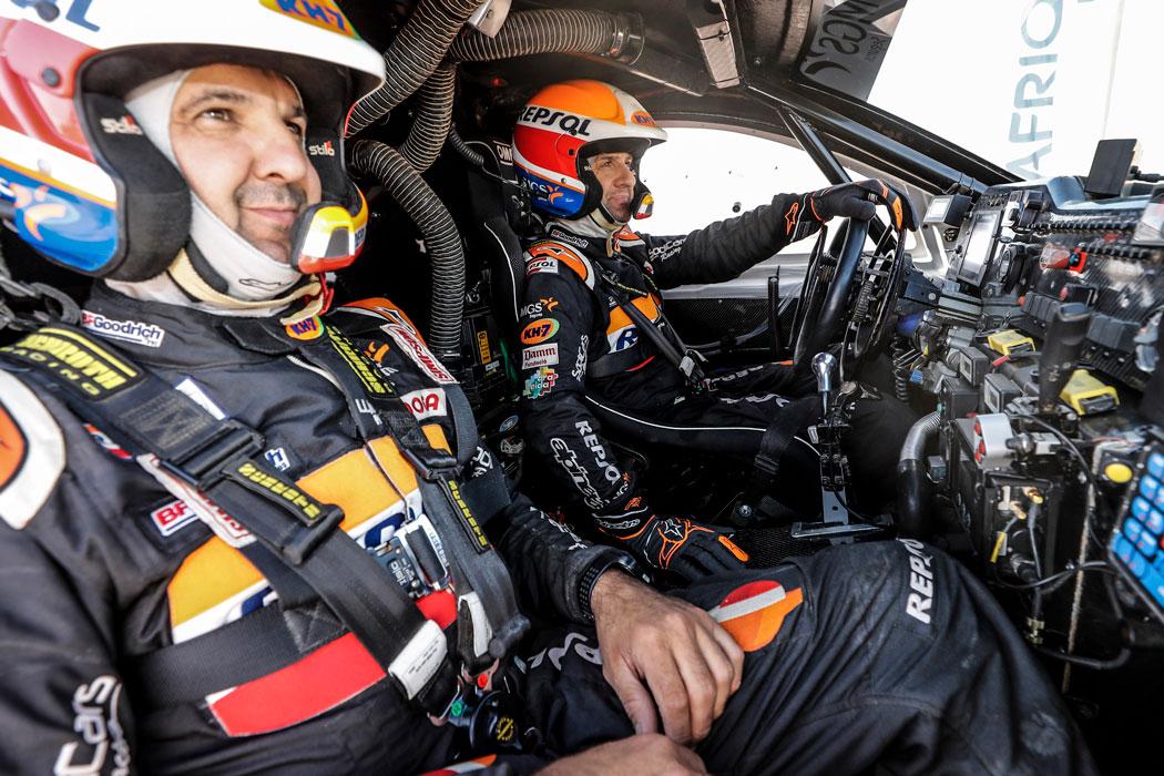 Isidre Esteve y Txema Villalobos preparados para conducir