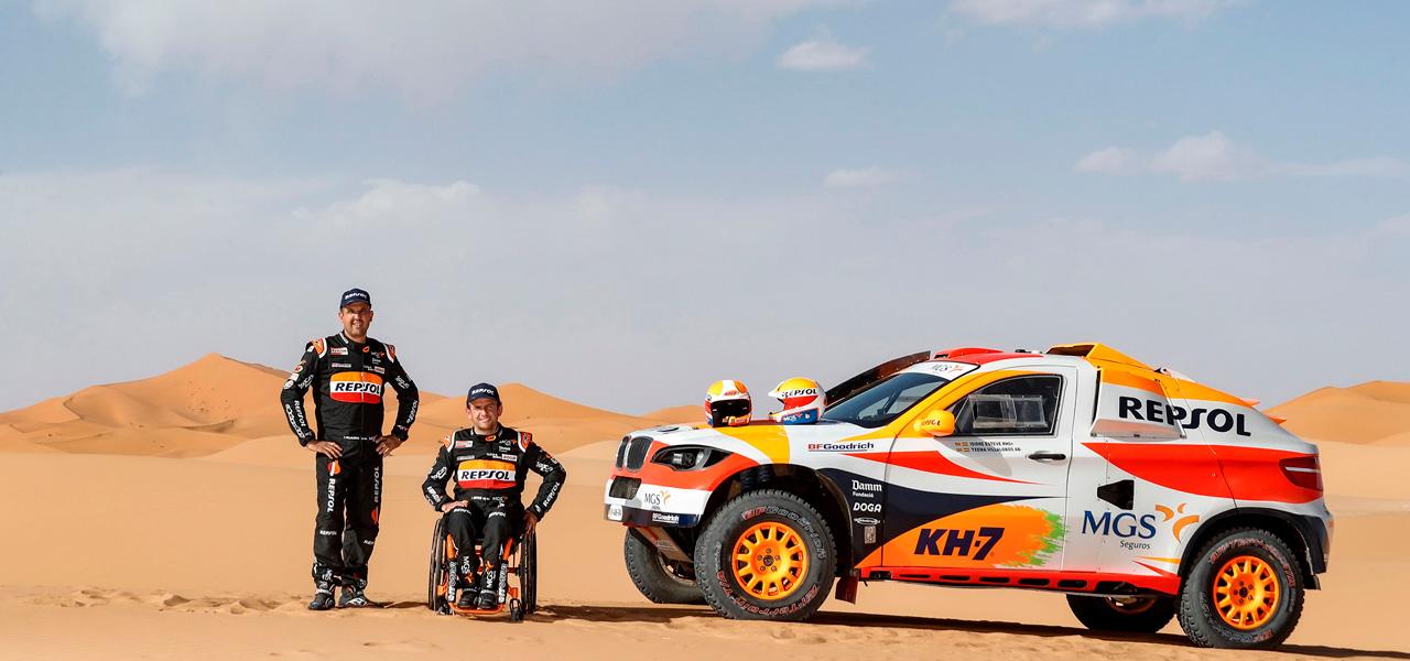 Sigue la ruta del Dakar 2020