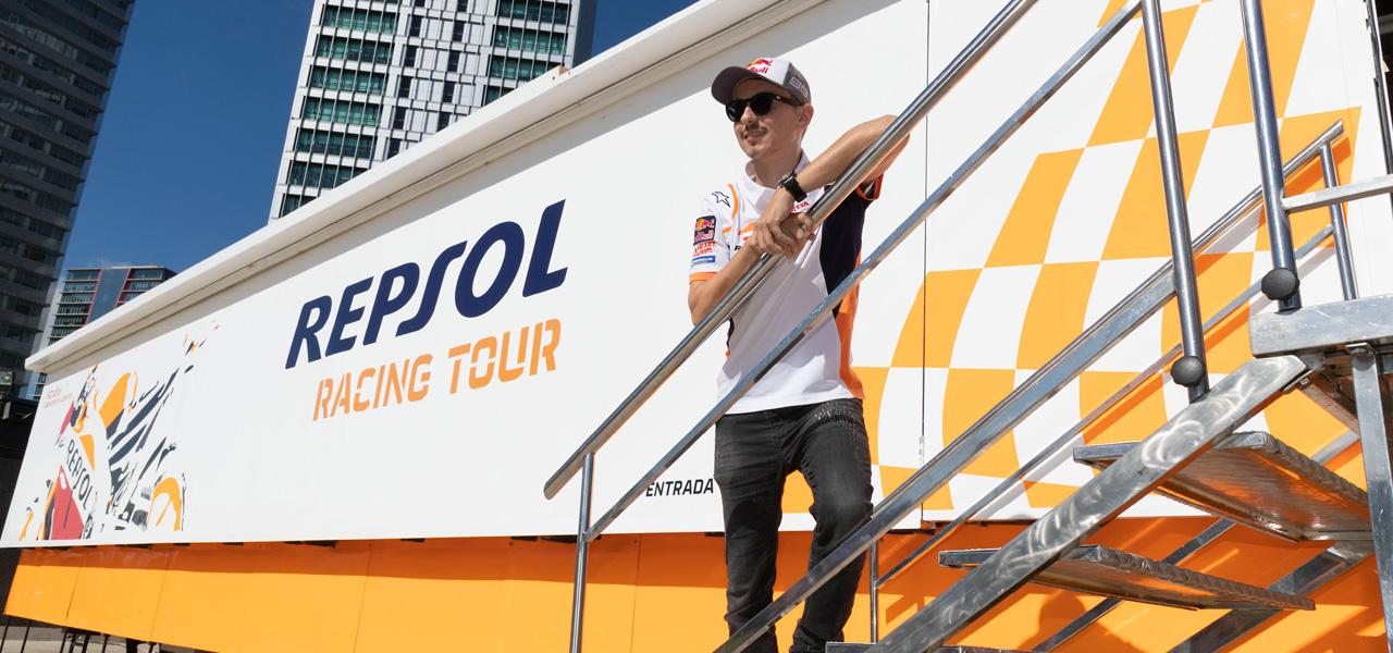 Jorge Lorenzo, guía sorpresa del Repsol Racing Tour