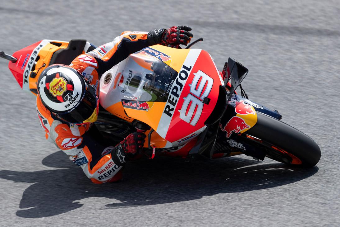 Jorge Lorenzo sobre la Honda