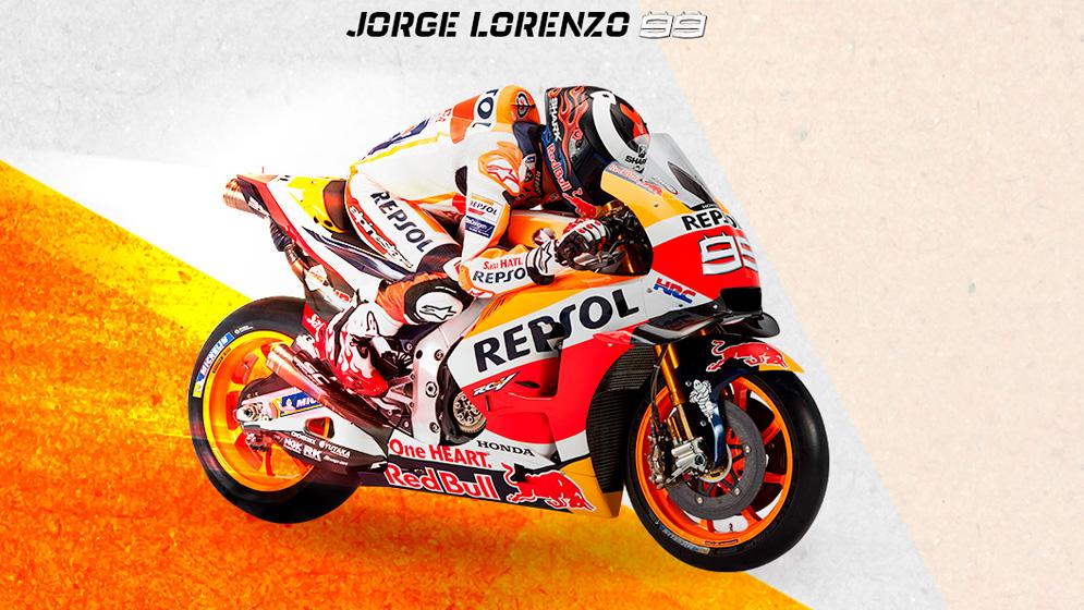 fondo Jorge Lorenzo Repsol Honda 2019
