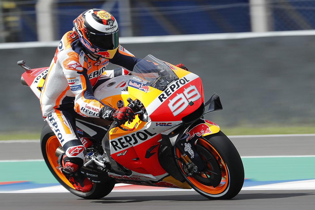 Jorge Lorenzo en la Honda