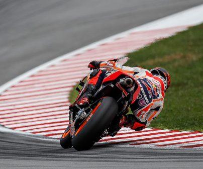 Jorge Lorenzo en pista durante el GP de Malasia 2019