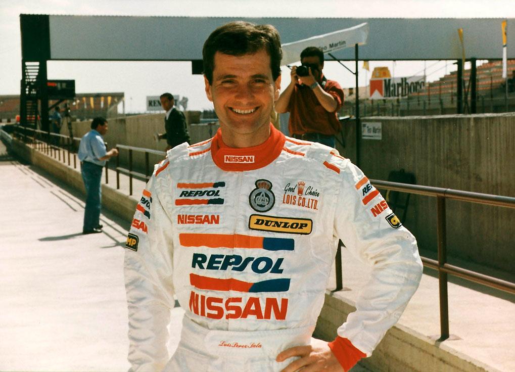 Luis Perez Sala, piloto Repsol