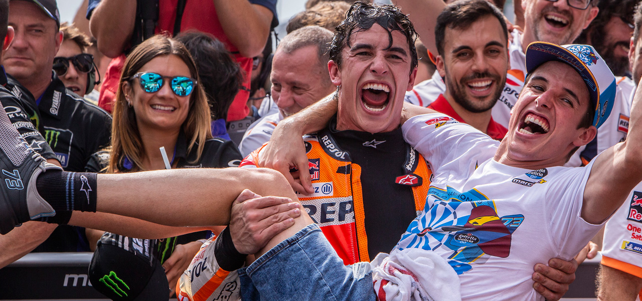Vibrant comeback from Marc Márquez for second place