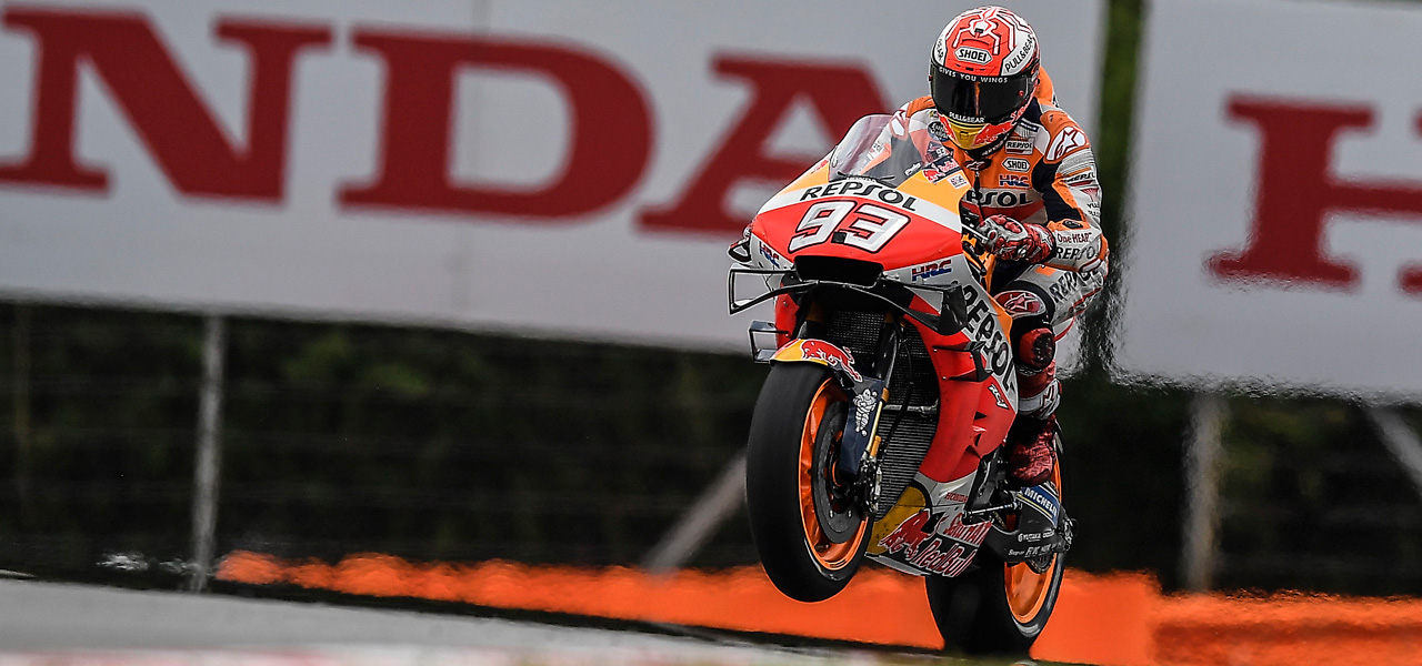 Márquez and Lorenzo make progress on first day in Malaysia