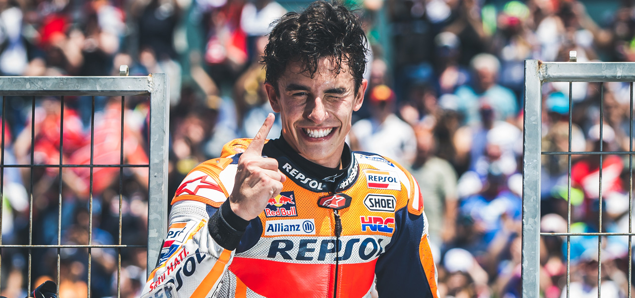 Images of an unforgettable 2019 year for Marc Márquez