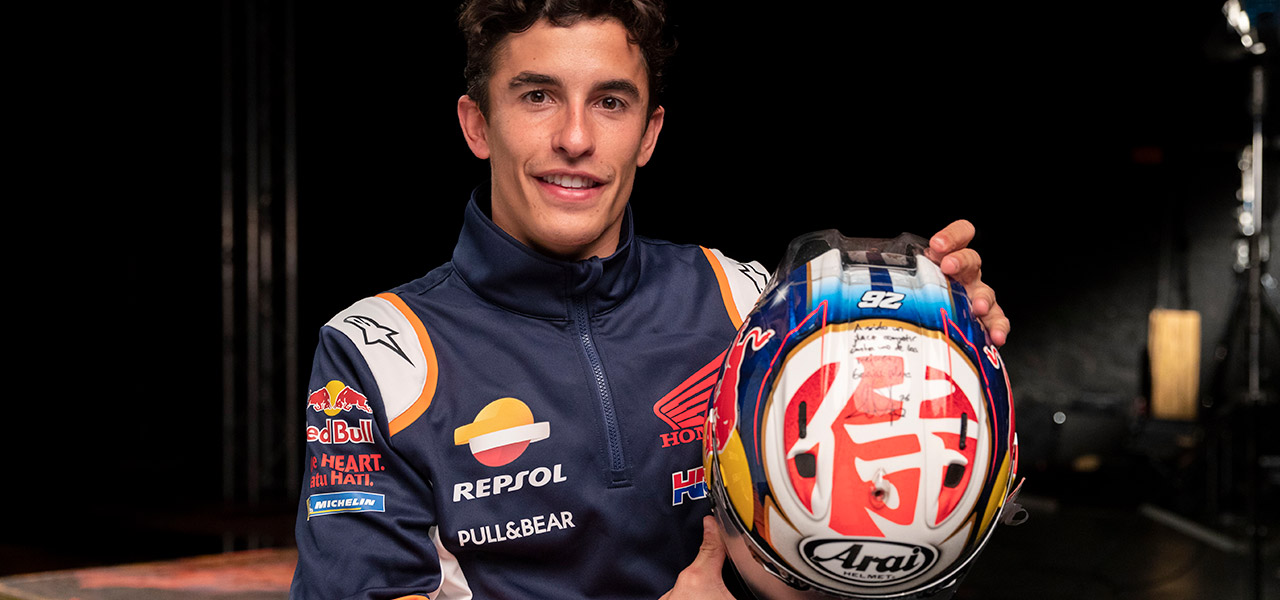 5 gifts and 5 memories for Marc Márquez
