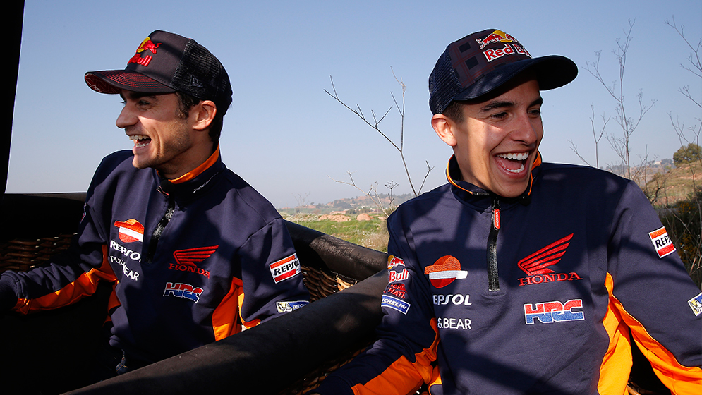 2017: A year full of laughter with Marc and Dani