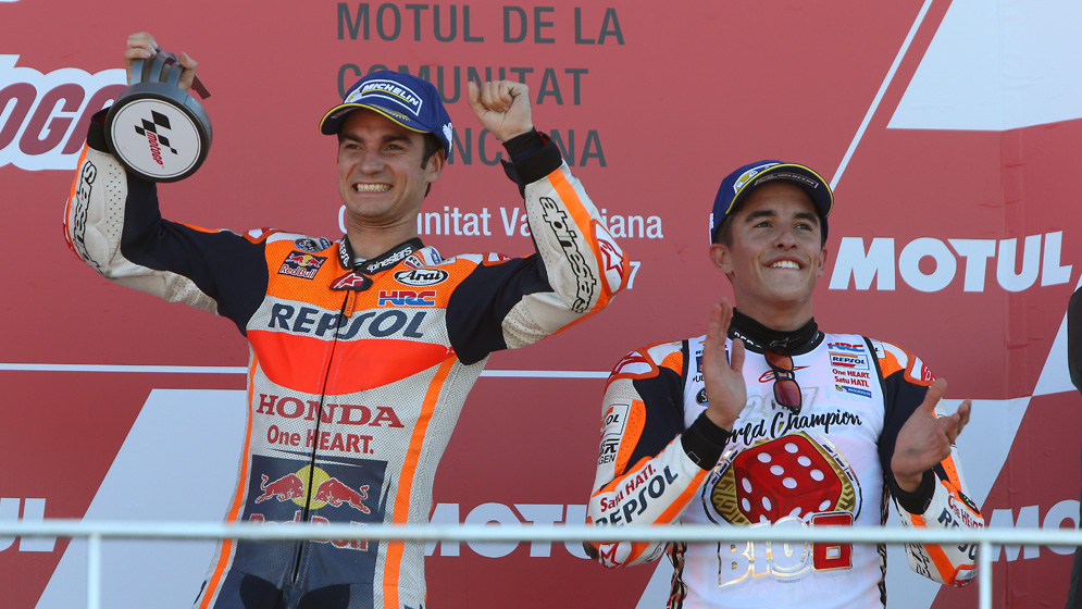 Repsol Honda, the MotoGP team with the most awards in 2017