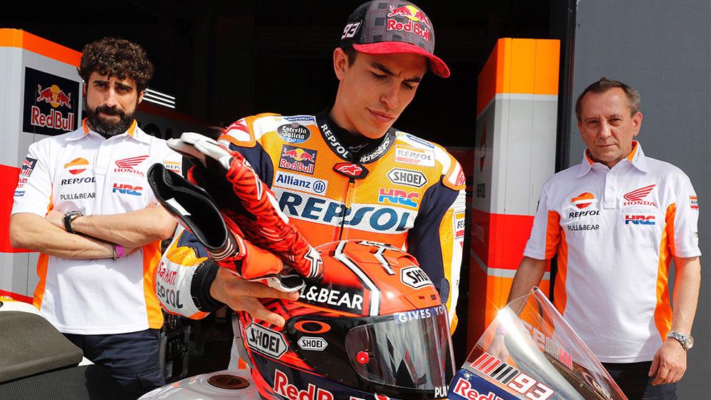 Armaduras de MotoGP: máxima protección para los pilotos de MotoGP