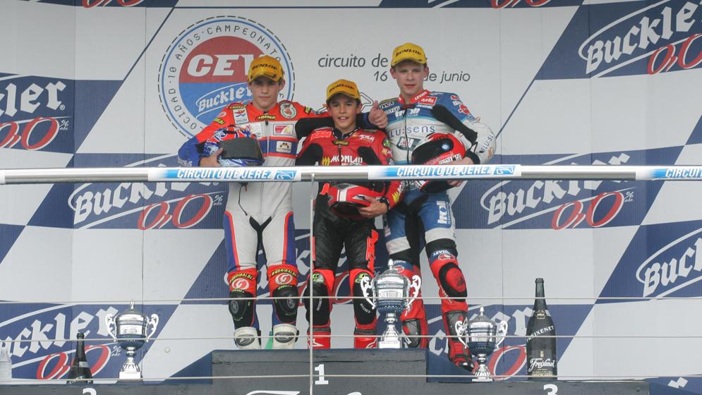 El éxito de Marc Márquez en el FIM CEV Repsol