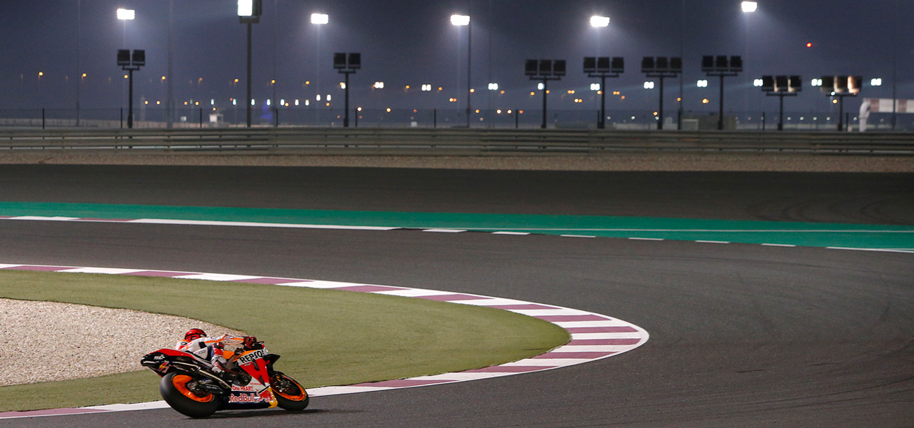 Nighttime Grand Prix: light and shadow