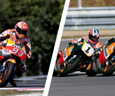 How have lap times changed from 500cc to MotoGP?