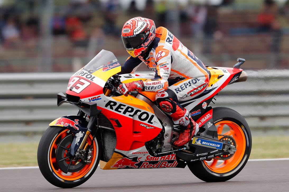 Marc Márquez piloto Repsol Honda