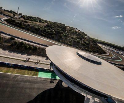 Panoramica del circuito de Jerez