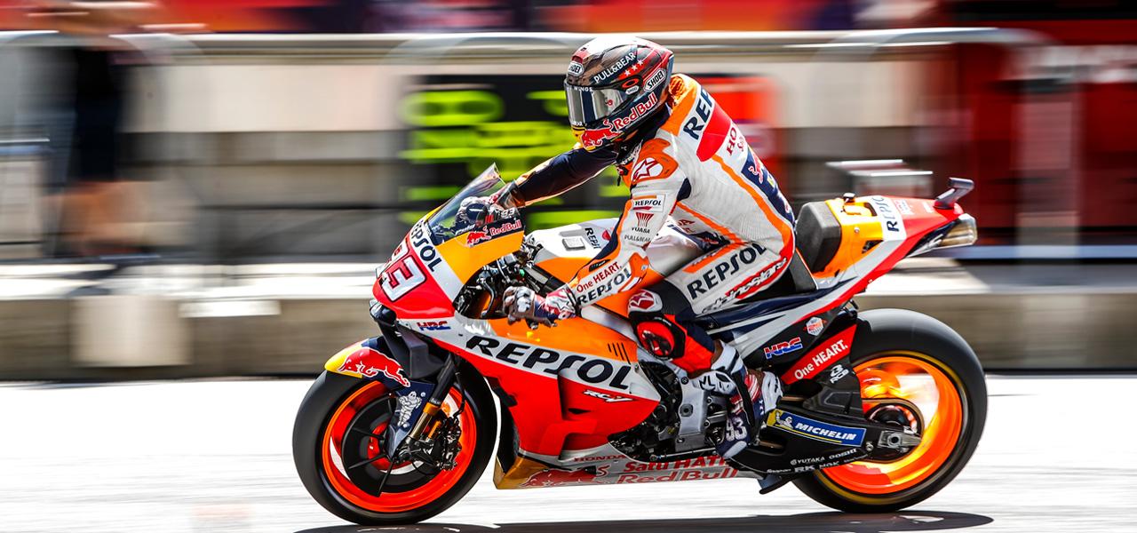 Lightweight materials for MotoGP