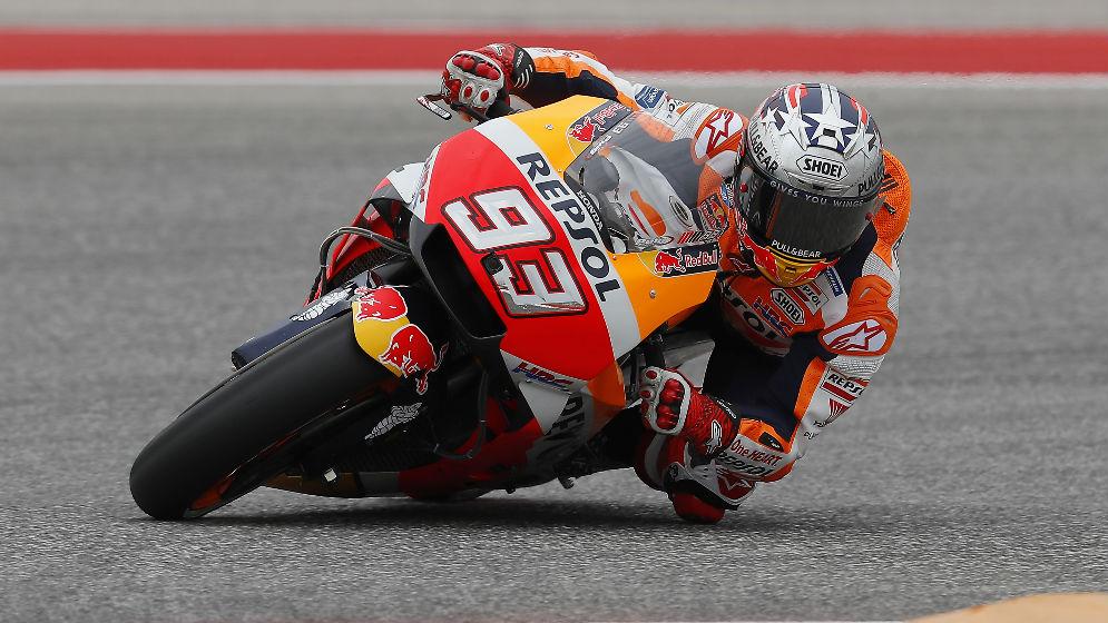 Márquez es segundo en la primera jornada y Pedrosa, décimo