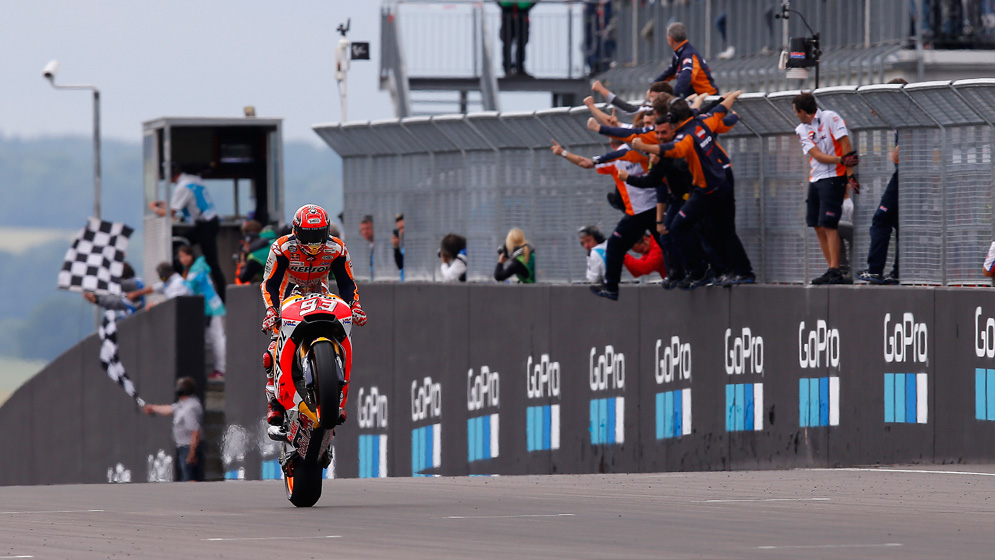 Why is Marc such a dab hand at Sachsenring?