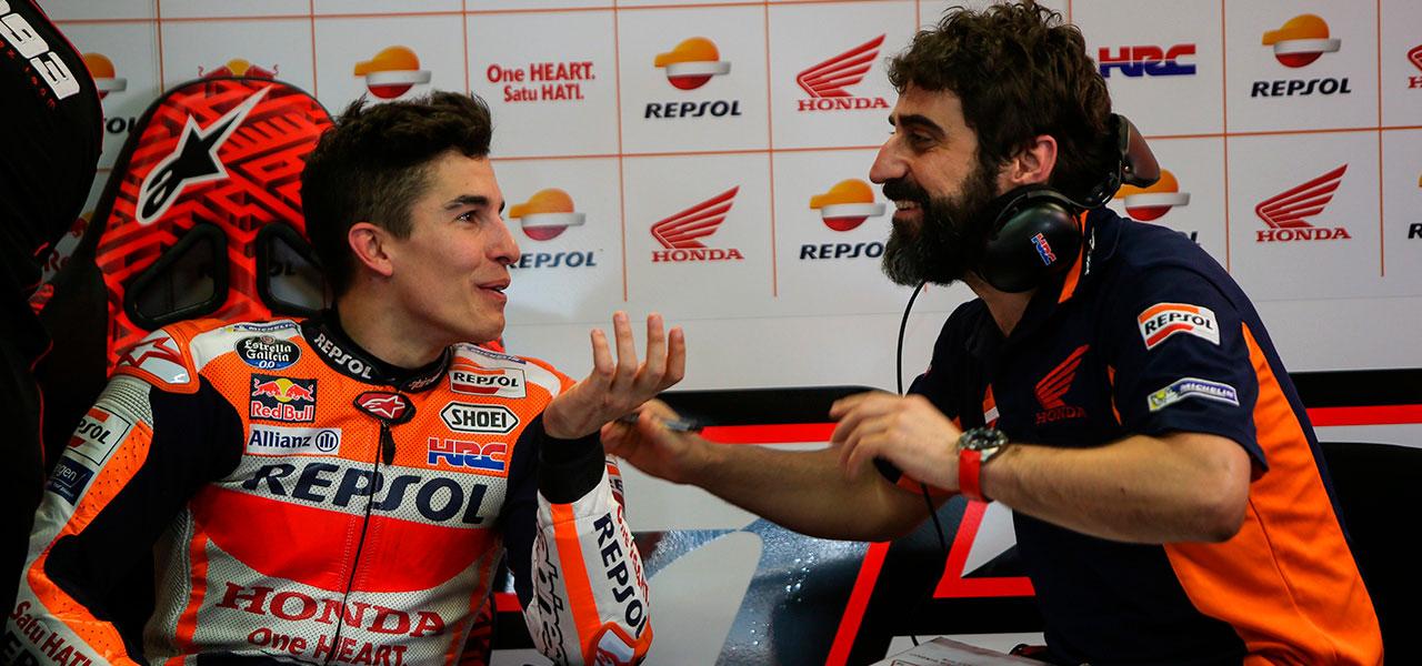 ¿Cómo es un día de test en MotoGP?