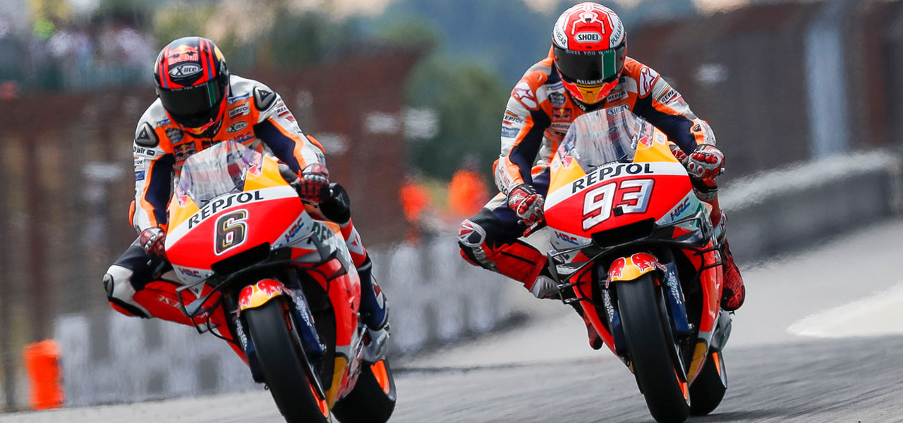 Márquez starts second half of season with Bradl as stand-in teammate