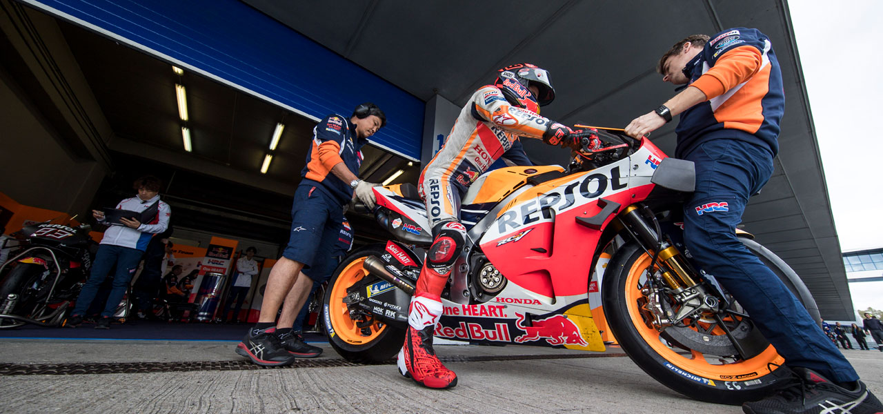 Testing continues in Jerez for the Repsol Honda Team