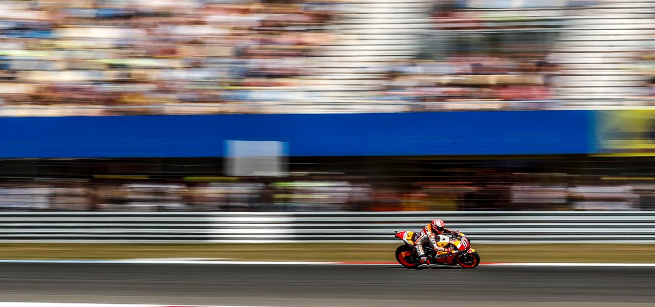The unseen speeds of MotoGP