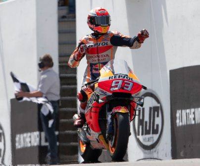 Marc Márquez logra su 10ª victoria consecutiva en Alemania, 6ª de la temporada