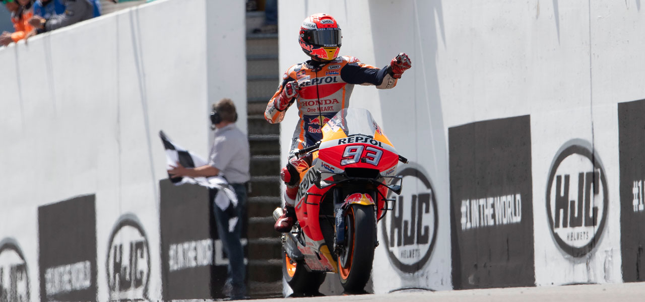 2019 German GP - Perfect ten for Marc Márquez with German