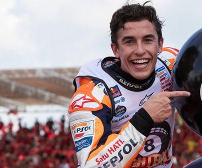 Márquez y Repsol, Campeones del Mundo de MotoGP 2019>