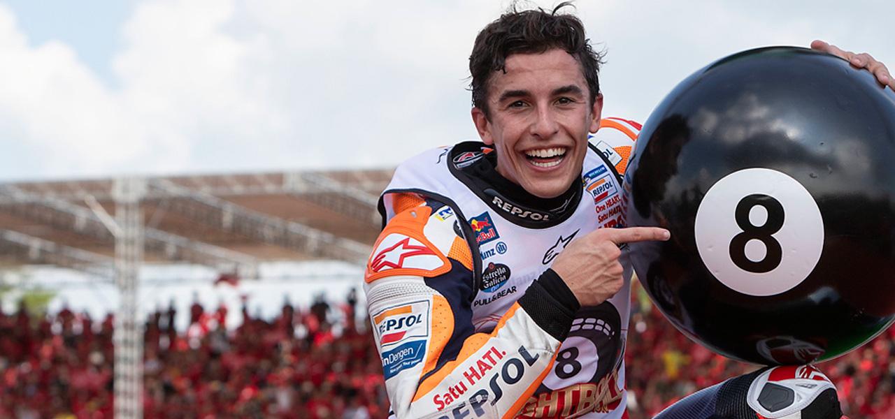 Marc Márquez y Repsol, Campeones del Mundo de MotoGP 2019