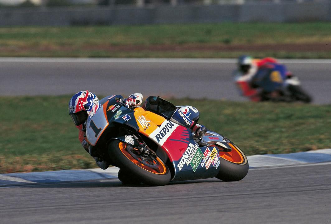 Mick Doohan en el GP de Catalunya en 1995
