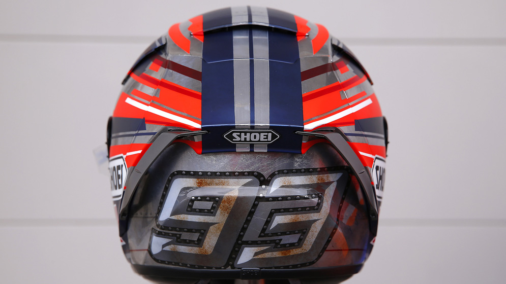 Marc's helmets: an ant with style