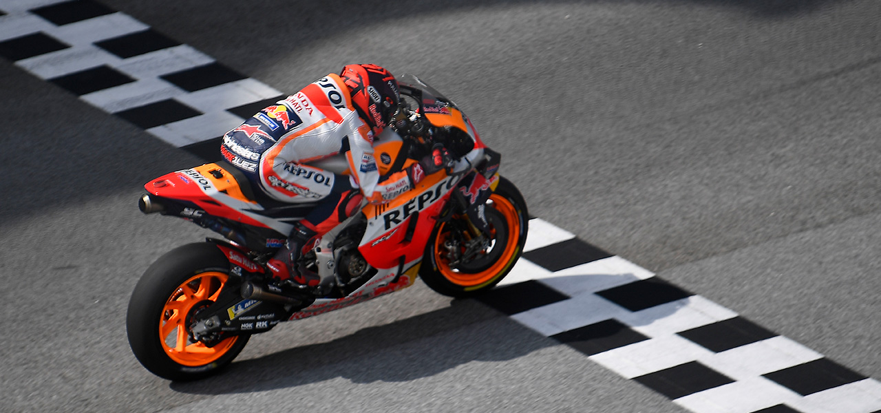 Work continues in Sepang for Marc & Álex Márquez in Sepang