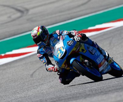 Alonso Lopez en moto3