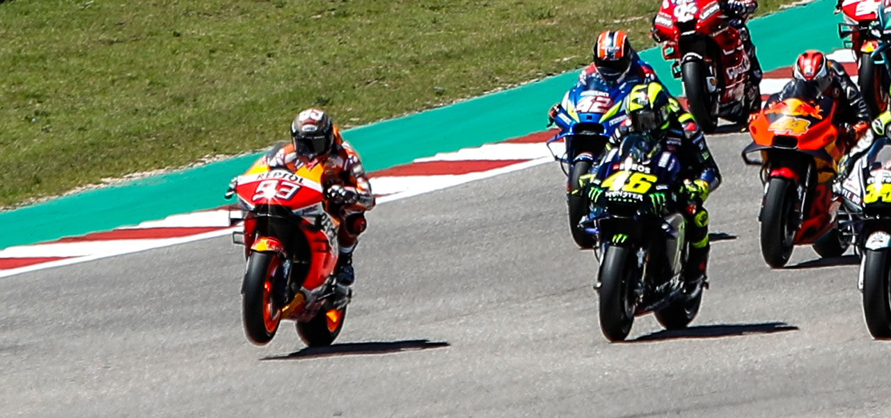 Márquez and Lorenzo leave Austin empty-handed