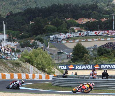 Circuito de Estoril cuando estaba en el Mundial de MotoGP