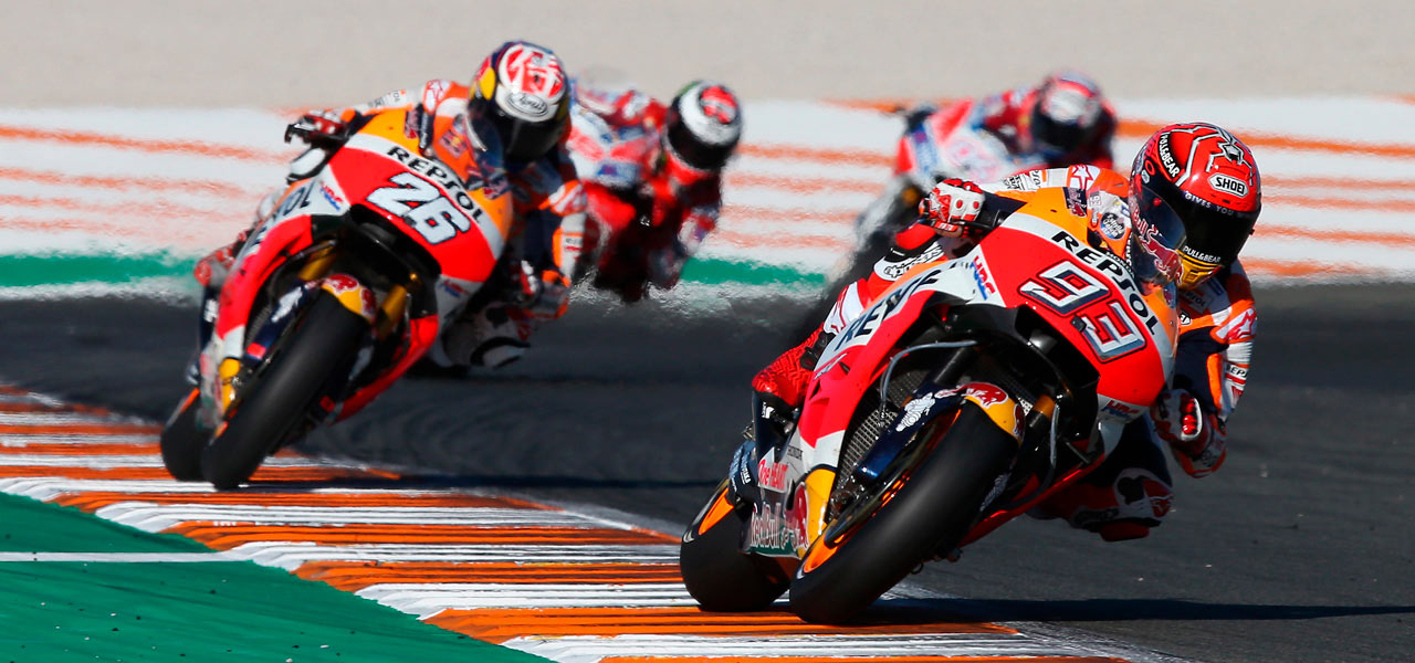 Márquez and Pedrosa to sign off for the season in front of home fans