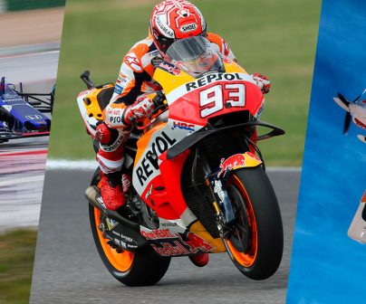 Formula1 MotoGP y Avión en montaje