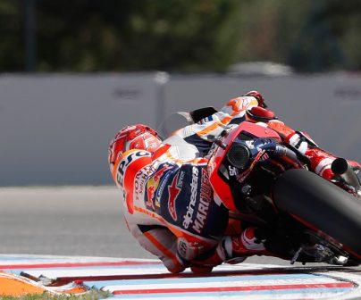 Temperatura MotoGP ruedas curvas